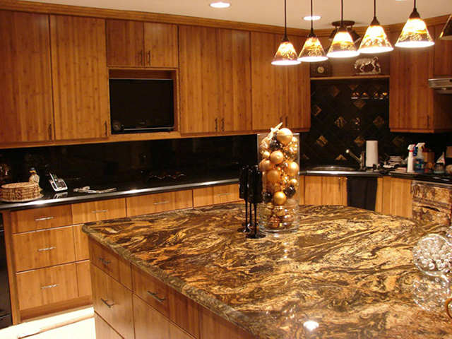 Custom Kitchen Cabinet by Others - Bamboo